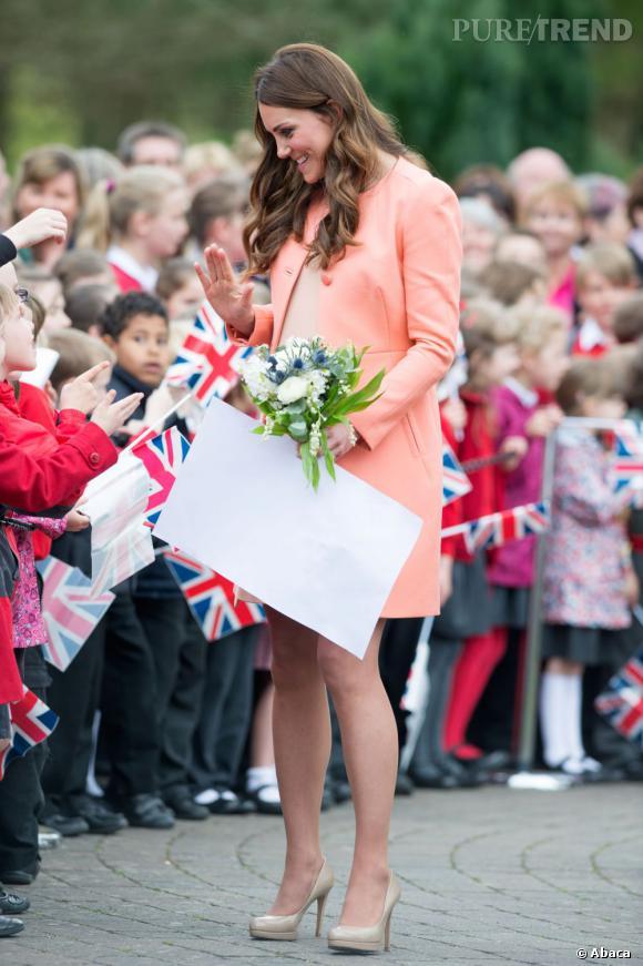 Kate Middleton devait accoucher le 13 juillet... finalement ce sera le 22.