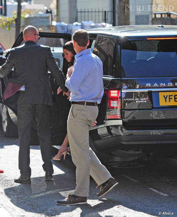 Kate Middleton (la fausse) elle aussi prête à accoucher.
