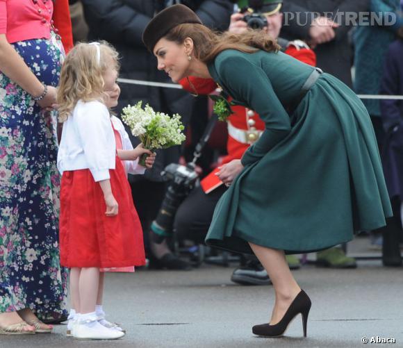 Kate Middleton bientôt maman pour la première fois.