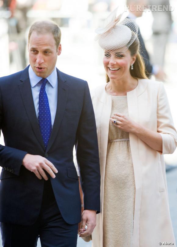Kate Middleton ont accueilli leur premier enfant le 22 juillet 2013.
