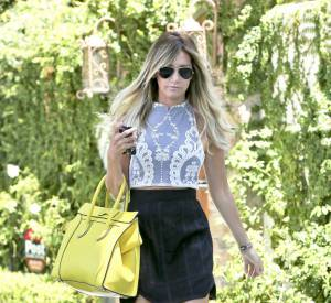 Ashley Tisdale, un look parfaitement bien orchestré.