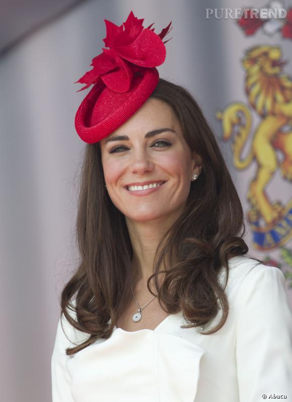 Kate Middleton porte le bibi comme personne.