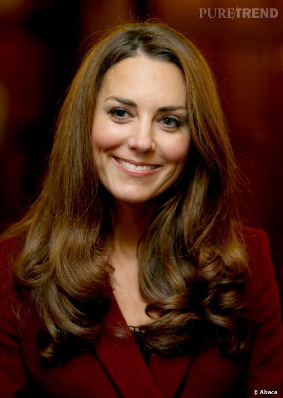 Kate Middleton et ses boucles parfaites.