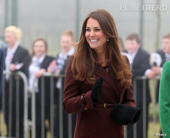 Kate Middleton, une princesse sur son trente-et-un.
