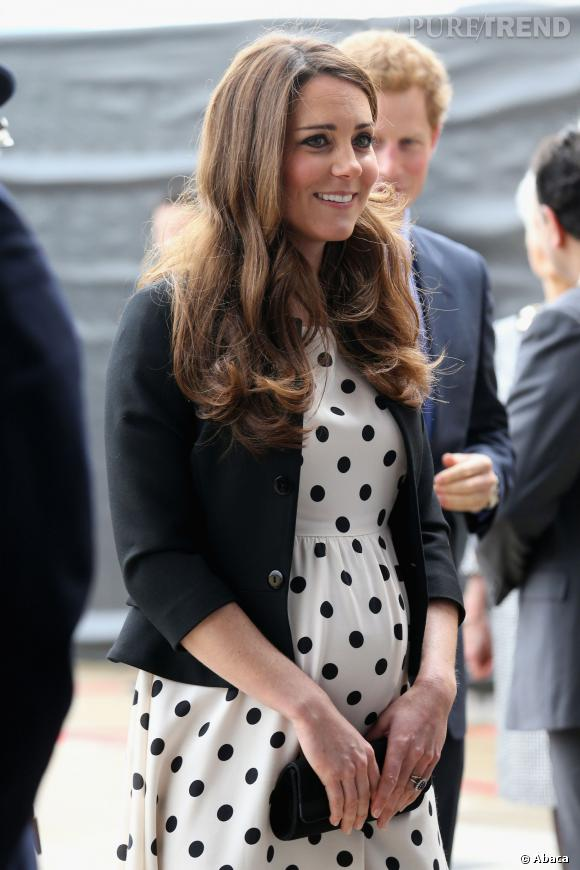 Kate Middleton, une maman stylée.