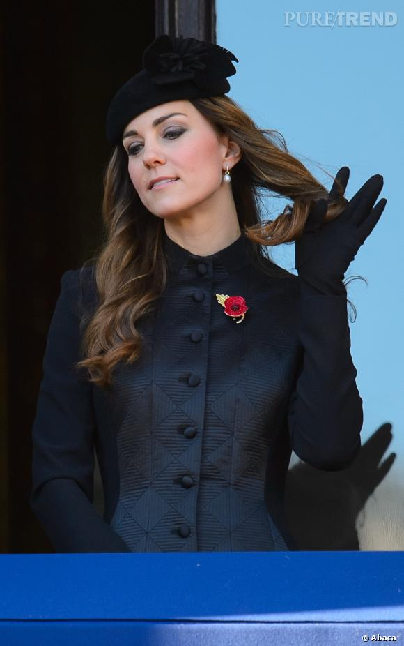 Kate Middleton, très chic.