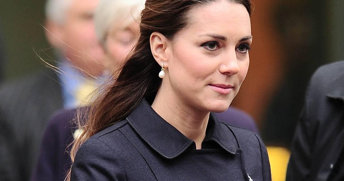 Kate middleton chic en demi queue de cheval - Demi queue de cheval ...