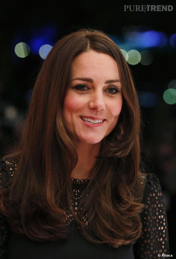 Kate Middleton et sa chevelure au top.