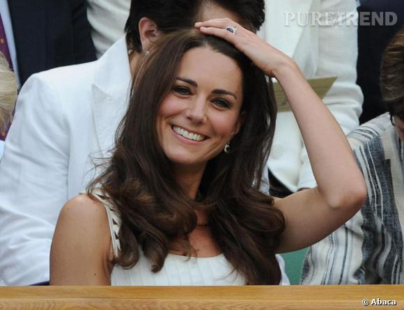 Kate Middleton et son beauty look estival parfait.