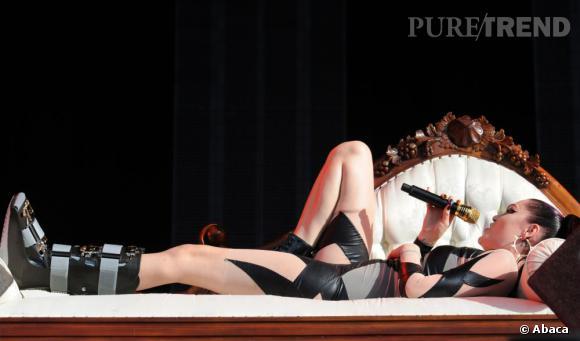 En 2011, Jessie J avait été obligé de ralentir ses shows pour cause de pied cassé.