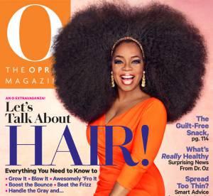 Oprah Winfrey : la maxi afro en couv' de son magazine