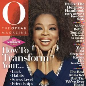 Oprah Winfrey, déjà en une du numéro de septembre 2012.