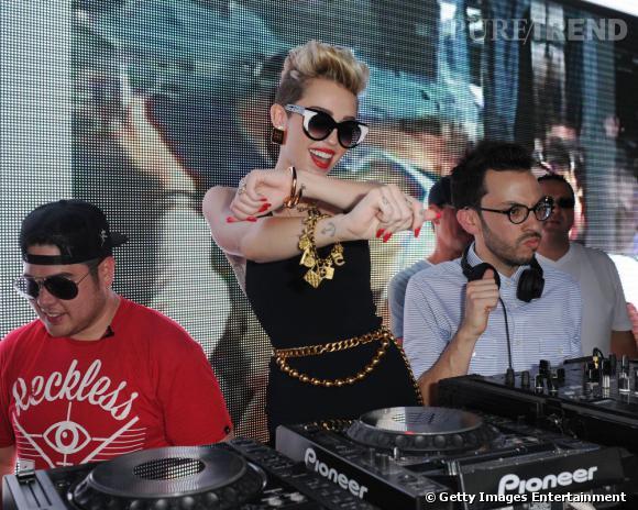 Miley Cyrus, l'artiste du mois.