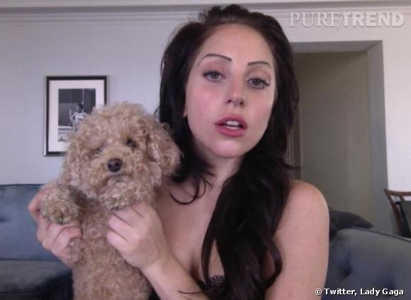 La dernière lubie de Lady Gaga : les sourcils Stabilo.