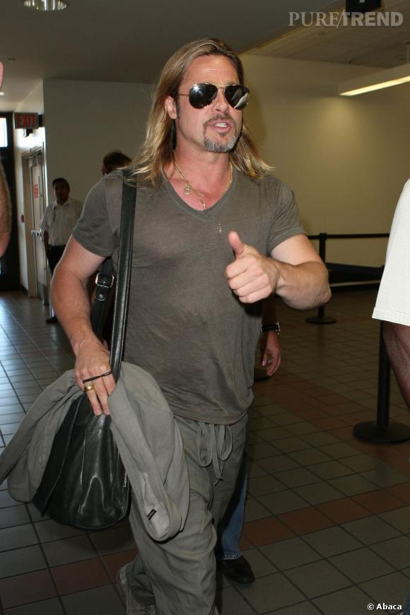 Brad Pitt s'est rendu en France le mois dernier. Certains disent que c'était pour s'occuper des derniers préparatifs du mariage.