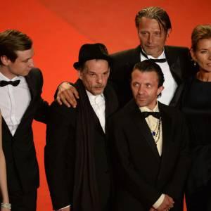 """L'équipe du film """"Michael Kholhaas"""" au Festival de Cannes."""