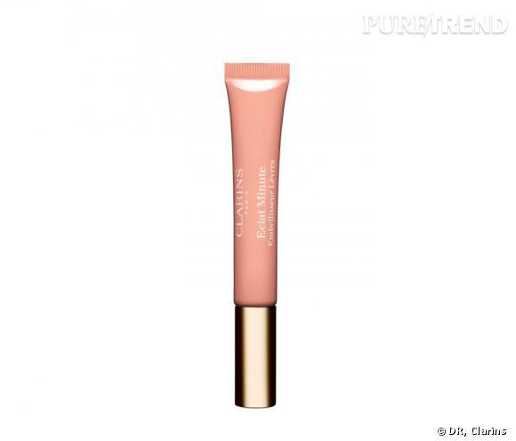 Eclat Minute Embéllisseur Lèvres Clarins, prix : 16,10 euros.