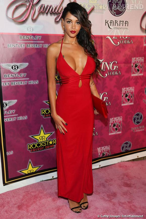 Nabilla lors de la soirée Kandyland an evening of Decadent Dreams à Beverly Hills.
