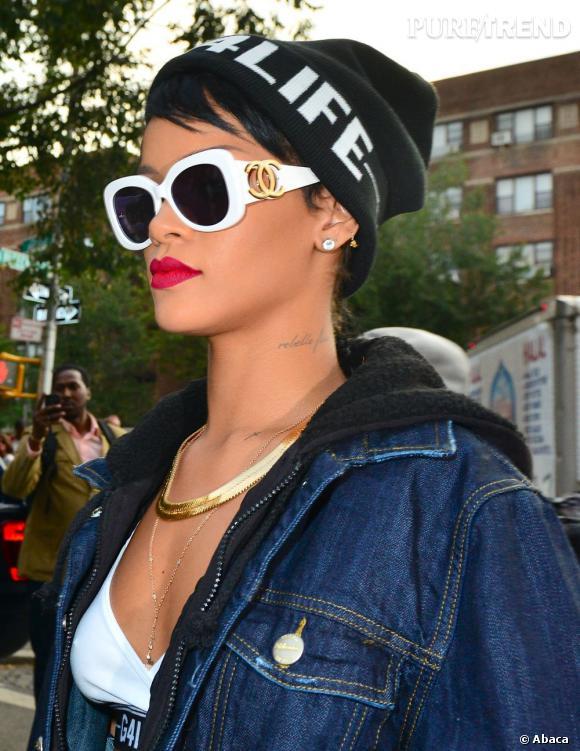 Rihanna a besoin de son espace vital et n'hésite pas à rembarrer ses fans si elle se sent trop opressée.