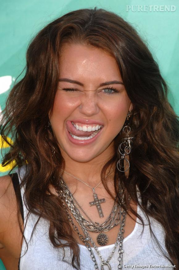 Miley Cyrus et sa belle grimace...