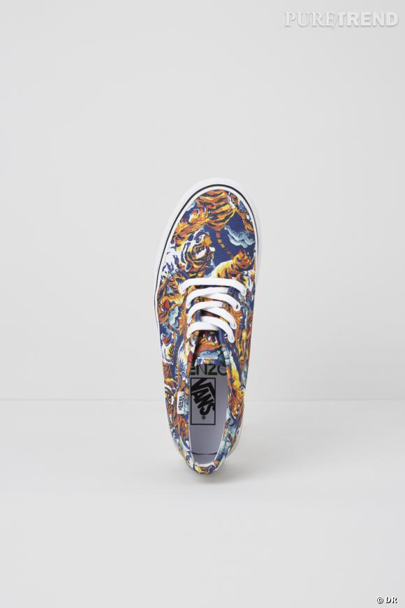 Kenzo x Vans, l'ultime collection : must have ! Baskets Authentic Flying Tiger