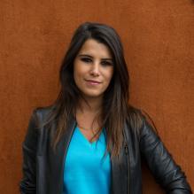 Karine Ferri est une fan de Roland Garros, présente à chaque édition du tournoi ou presque.