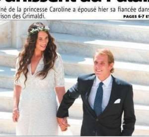 Andrea Casiraghi et Tatiana Santo Domingo : mariage princier sur le rocher