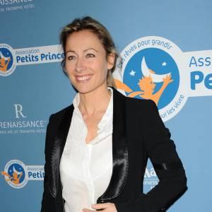 Anne-Sophie Lapix ce soir dans l'émission C à Vous.