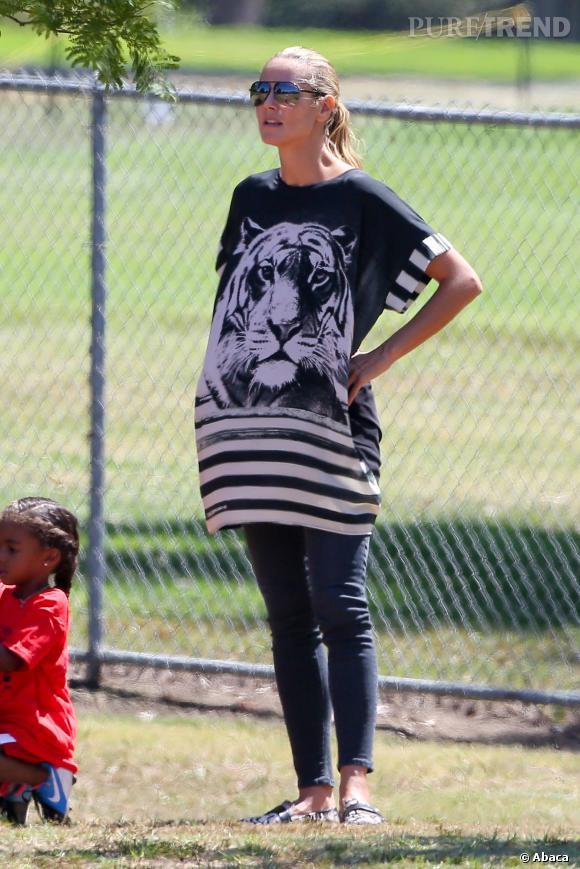 Heidi Klum serait-elle à nouveau enceinte ?