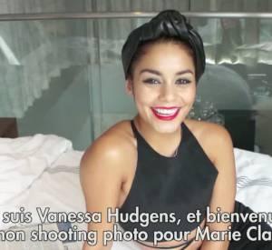 Vanessa Hudgens dévoile ses obsessions du moment lors d'un shooting Marie-Claire.