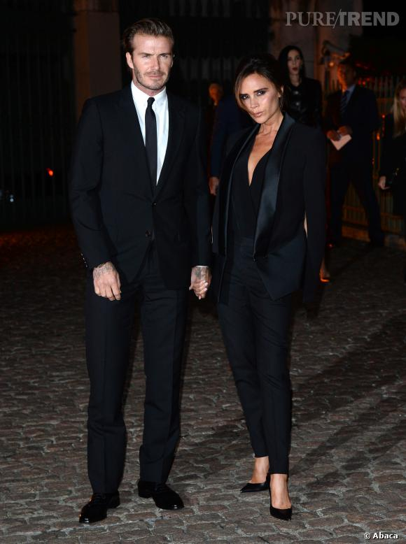 David et Victoria Beckham forment un couple inséparable et ultra stylé.
