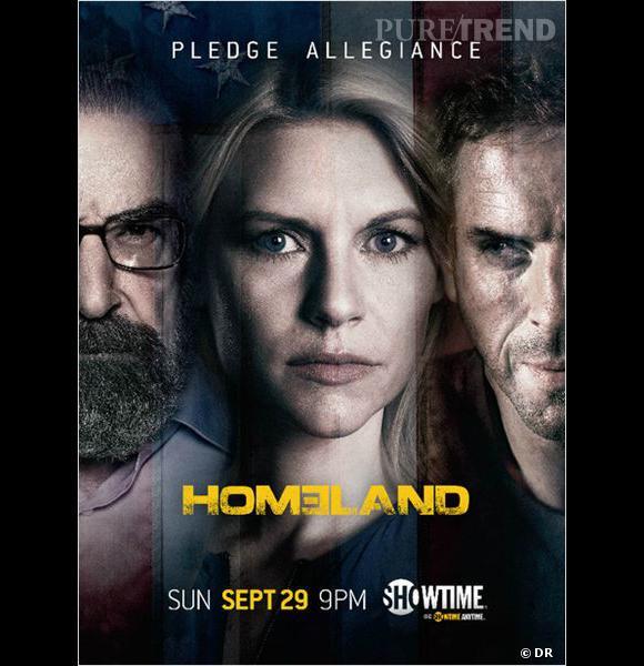 """Canal+ Séries commence fort avec un marathon de la saison 1 et 2 de la série phare """"Homeland"""". Une manière de se remettre à niveau avant le début de la saison 3 le 29 septembre aux États-Unis."""