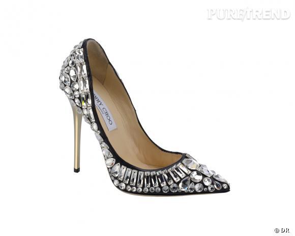 It-shoes : 30 objets de désir pour cet Automne-Hiver 2013/2014    Escaprins Tia, Jimmy Choo, 2295 €