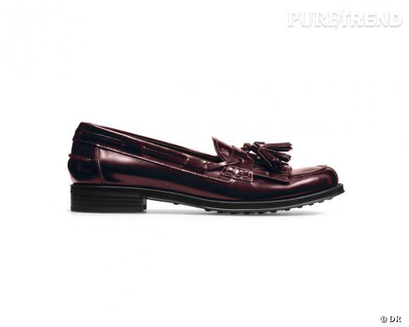 It-shoes : 30 objets de désir pour cet Automne-Hiver 2013/2014    Mocassins Tod's, 335 €