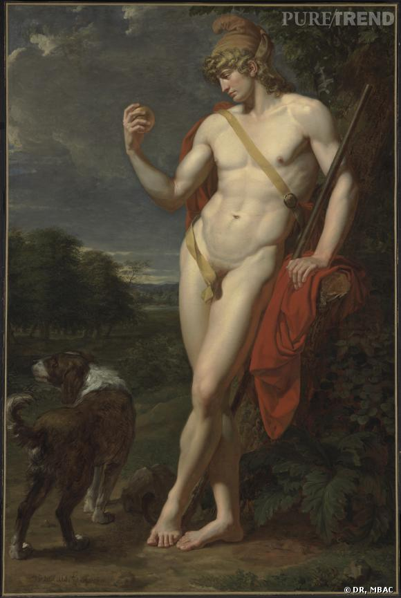 Jean-Baptiste Frédéric Desmarais (1756-1813)     Le Berger Pâris , 1787 Huile sur toile, 177 x 118 cm Musée des beaux-arts du Canada, Ottawa Photo © MBAC
