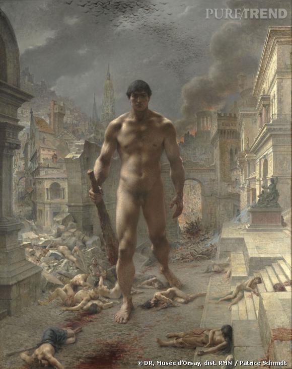 H  enri Camille Danger (1857-1939)     Fléau ! , 1901 Huile sur toile, 180,5 x 144,5 cm Paris, musée d'Orsay © Musée d'Orsay, dist. RMN / Patrice Schmidt