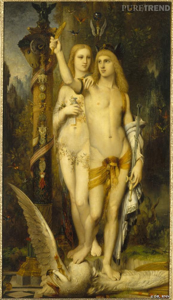 Gustave Moreau (1826-1898)     Jason , 1865 Huile sur toile, 204 x 115,5 cm Paris, musée d'Orsay