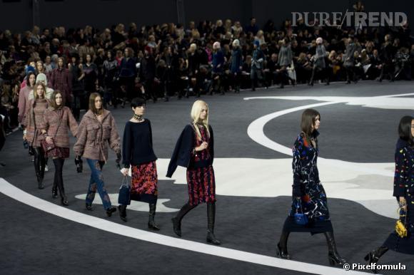 Défilé Automne-Hiver 2013/2014 Chanel.