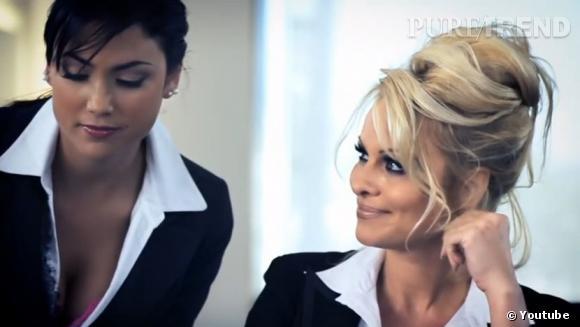 Pamela Anderson incarne un fantasme pour CrazyDomains.com...
