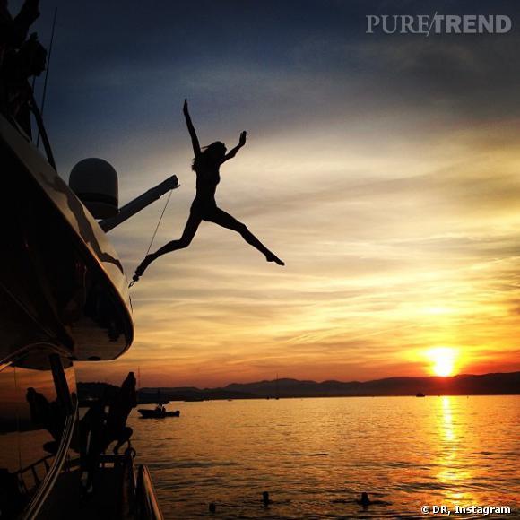 Candice Swanepoel fait le grand saut.