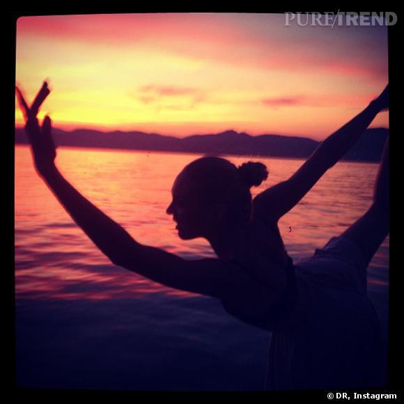 Candice Swanepoel, danseuse étoile sexy.