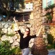 La top model Alessandra Ambrosio retrouve avec plaisir le Sud de la France.
