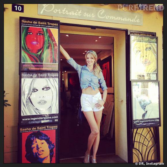 L'idole de Lindsay Ellingson ? Brigitte Bardot !