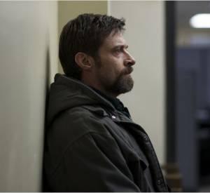 """Dans """"Prisoners"""", Hugh Jackman joue un père parti à la recehrche de ses deux filles disparues. Une situation qu'il a vécue pendant quelques minutes quand il a cru perdre son fils."""