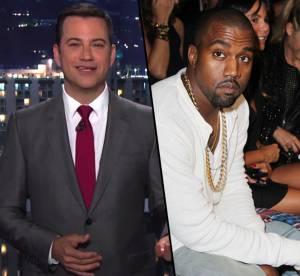 Kanye West et Jimmy Kimmel, c'est la guerre a cause d'une parodie
