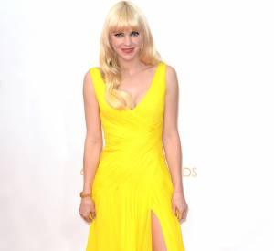 Anna Faris, beaucoup trop clichée (et jaune).