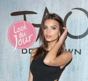 Emily Ratajkowski, envoutante et sexy pour TAO Downtown a New York