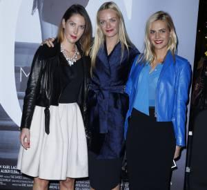 Prisca, Virginie et Jenna Courtin-Clarins à la projection Mademoiselle C à Paris.