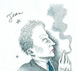 Jean Cocteau par Pierre Le-Tan