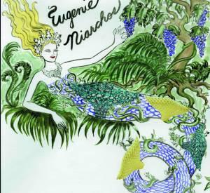 Portrait d'Eugènie Niarchos imaginé par Gordon Flores